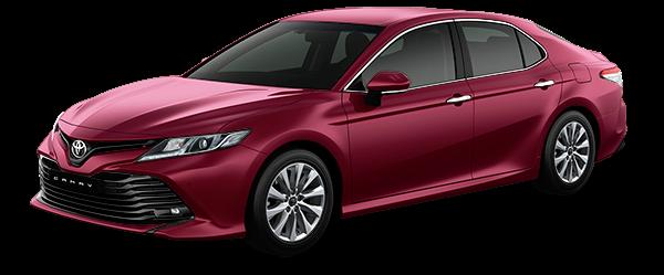 Toyota Tân Cảng Camry đỏ