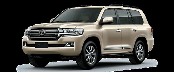 Toyota Tan Cang Cruiser vàng