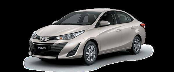 Toyota Tân Cảng Vios 2019 nâu